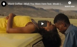 Black Coffee - Wish You Were Here (ft.  Msaki) (Guy Mantzur Remix)